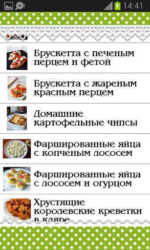 Холодные Закуски Рецепты
