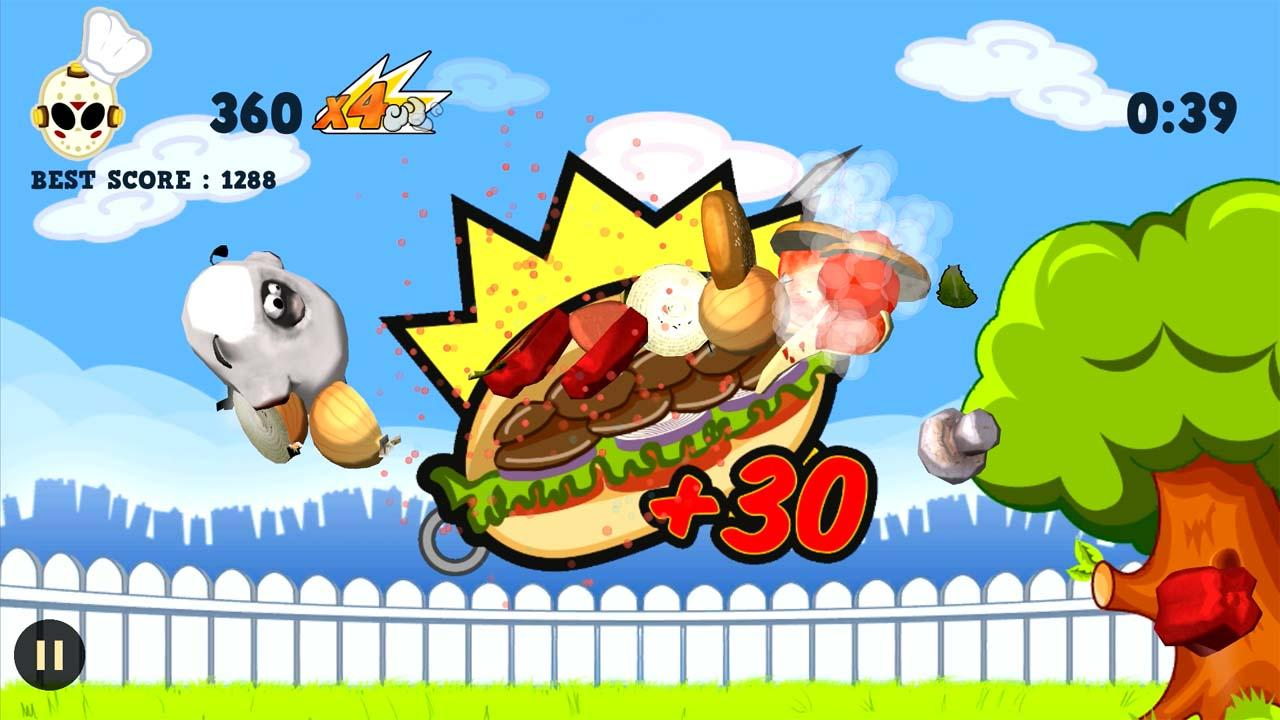 Ninja Barbecue Party App - screenshot