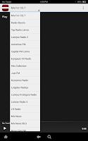Screenshot of Latvia Radio