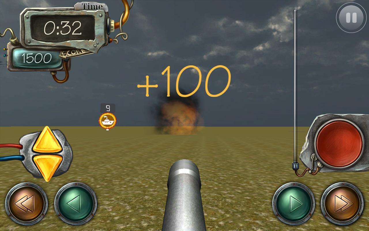 Mighty Cannon Shooter- screenshot
