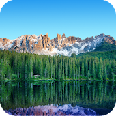 Alpine Lake Live Wallpaper