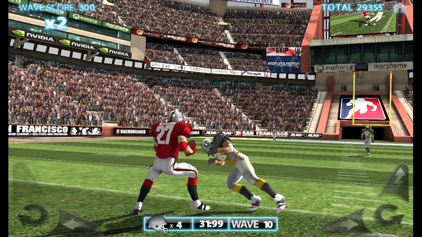 Backbreaker THD- screenshot