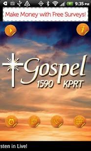 KPRT Gospel 1590 - screenshot thumbnail