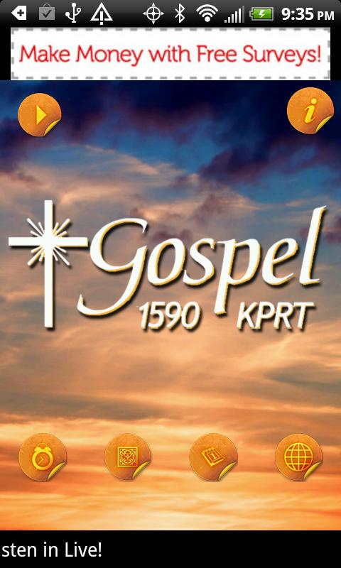 KPRT Gospel 1590 - screenshot