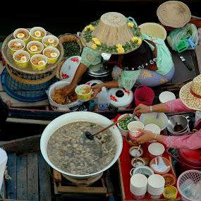 Delicious Thai Food  by Lem Kenhook - People Street & Candids