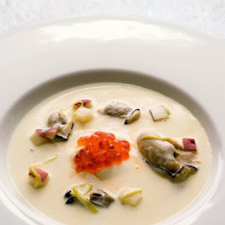 Oyster Stew with Caviar.