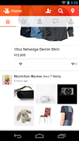Screenshot of Origami - social shopping