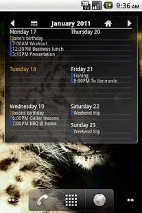 Agenda Widget Ultimate - screenshot thumbnail