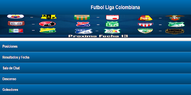 Futbol Colombiano - screenshot thumbnail