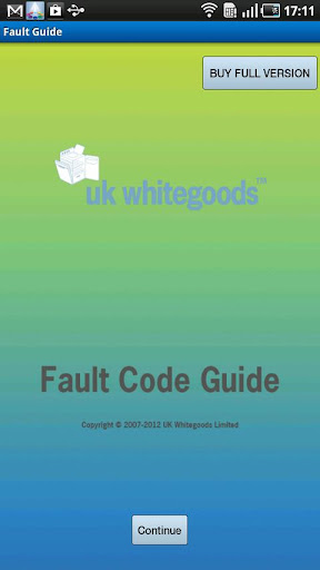Fault Guide