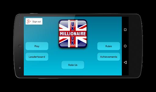 UK Millionaire Quiz