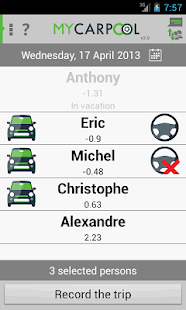 myCarpool- screenshot thumbnail