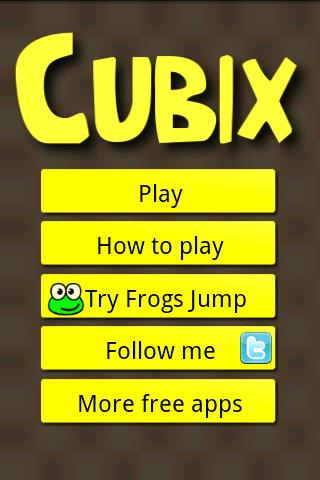 Cubix - screenshot