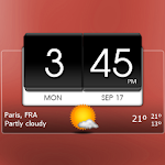 3D Flip Clock Theme Pack 01 1.5 Apk