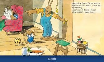 "Screenshot of Pixi-Book ""Howie Hare"""