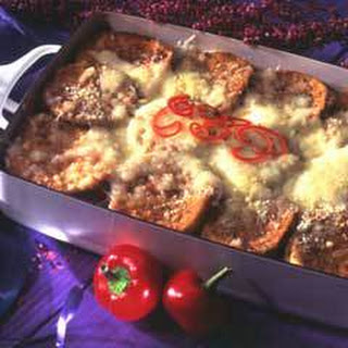 Cheesy Eggplant Casserole