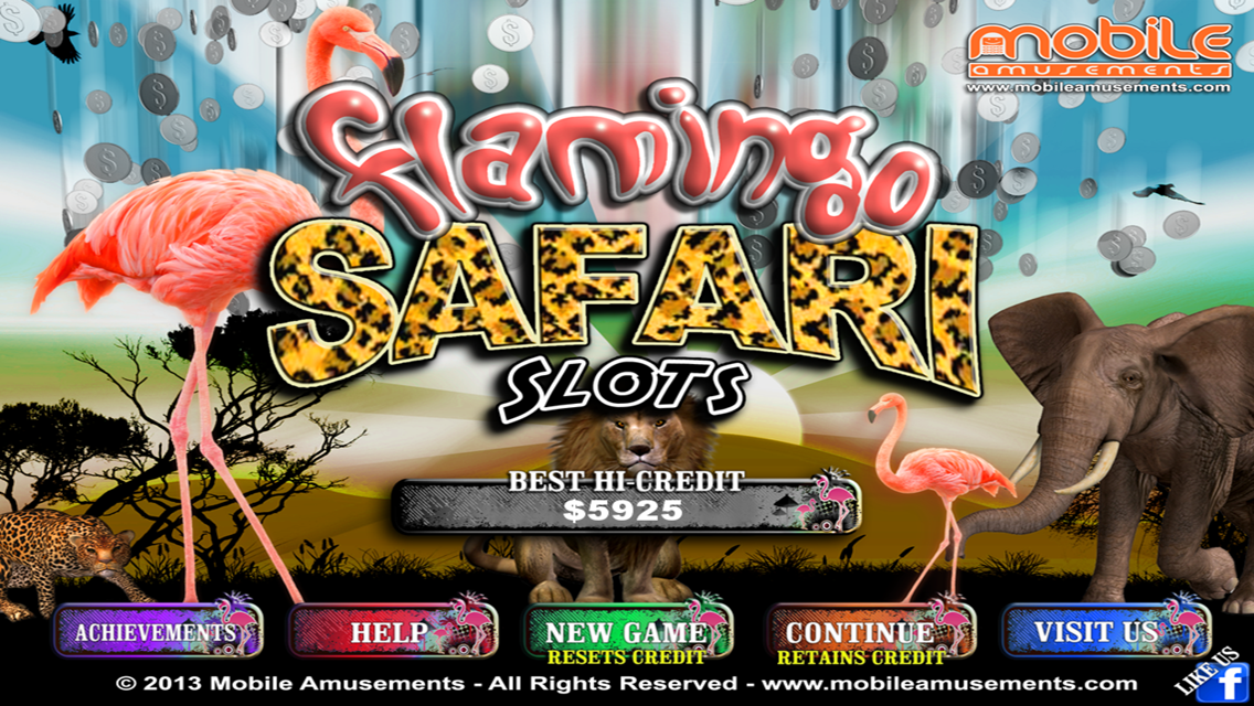 Flamingo Jungle Safari Slots Meerkat Money FREE- screenshot