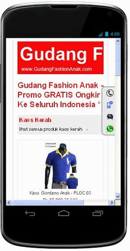 Toko Online Fashion Anak