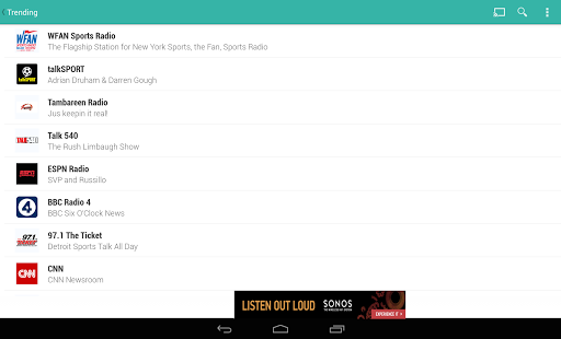 TuneIn Radio - Radio & Music Screenshot 21