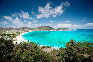 Grab a towel and hit the beautiful beaches of St. Maarten.