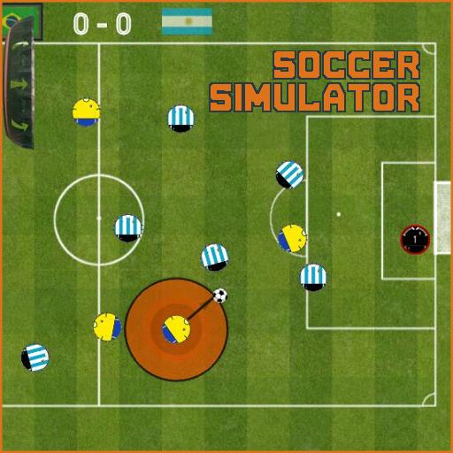 足球模擬器 - SOCCER SIMULATOR LOGO-APP點子