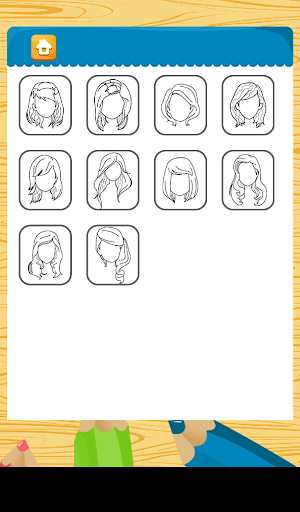 Girl Hair Coloring Games