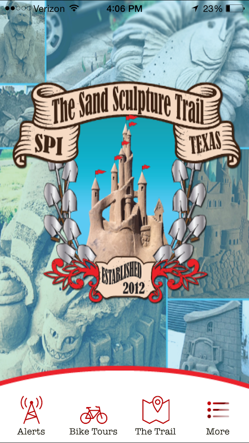 SPI Sand Sculpture Trail- screenshot