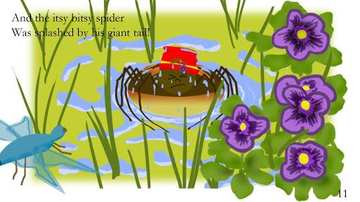 Itsy Bitsy Spider On The Farm