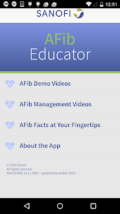 AFib Educator - screenshot thumbnail