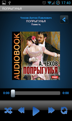 Аудиокнига Чехов А. Попрыгунья