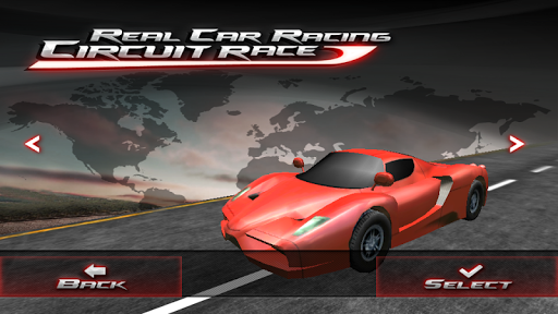 Real car racing - circuit race