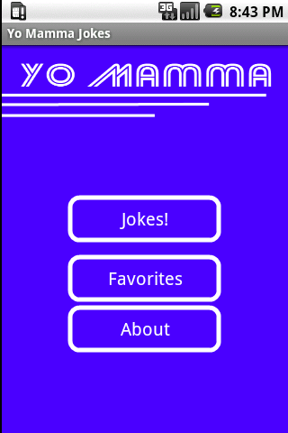 Yo Mamma Jokes- screenshot