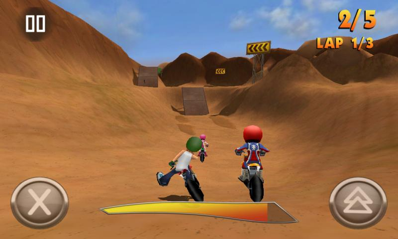 FMX Riders HD - screenshot