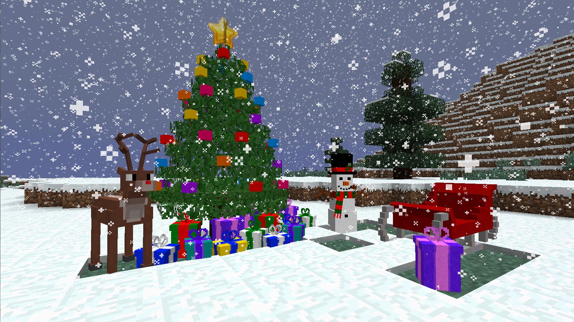 скачать моды на майнкрафт 1.7.2 на рождество christmascraft #7