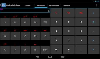 Screenshot of Genius Calculator & widgets