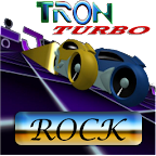 TRON LIGHTCYCLE ROCK RACE GAME
