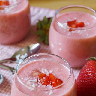 Strawberry Coconut Soup.