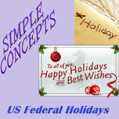 US Federal Holidays