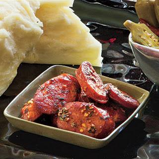 Smoked Paprika-Glazed Andouille