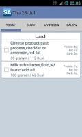 Screenshot of Calorie Counter Slim Assistant