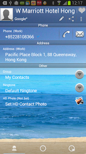 RocketDial SeaShore Theme (HD)- screenshot thumbnail