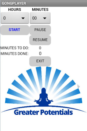 easy GONGPLAYER for MEDITATION