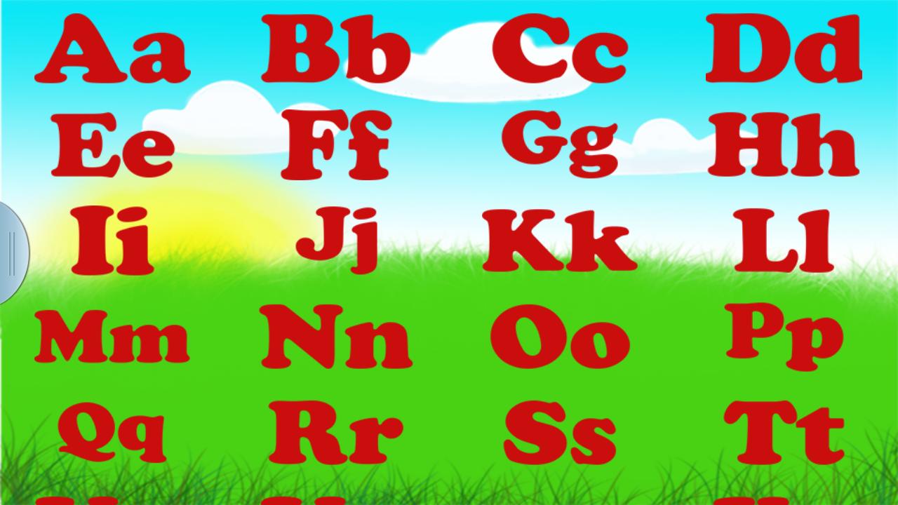 Английский алфавит (с картинками и словами). Скачать.   english 4.