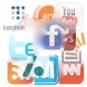 Social Media Ticker Slide Show