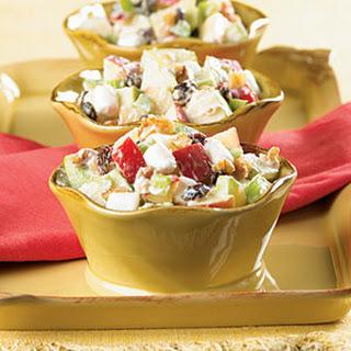 Creamy Apple-Nut Salad.