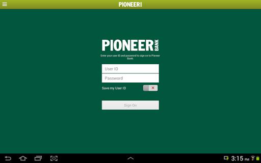 Pioneer-Mobile Banking Tablet