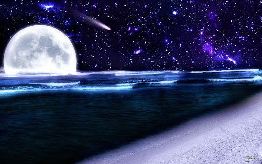 Beautiful starry sky Wallpaper