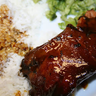 Sweet and Sour Crockpot Ribs.