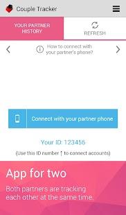 Couple Tracker -Mobile monitor - screenshot thumbnail