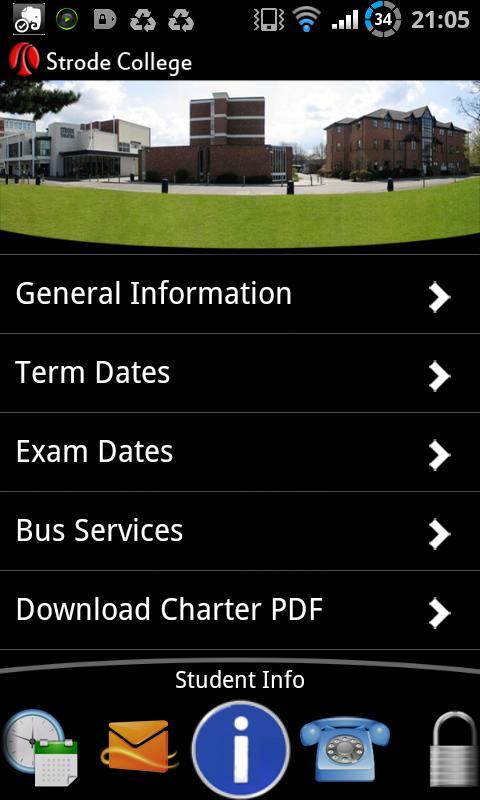 Strode College - screenshot